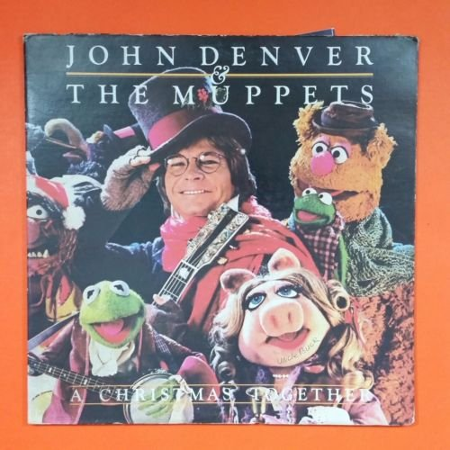 JOHN DENVER & THE MUPPETS A Christmas Together AFL1 3451 LP Vinyl VG++ Cover VG+ (Together John Christmas Denver)