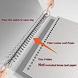 26-Hole Ring Binder, Loose Leaf Folder, B5