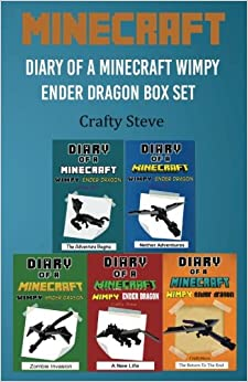 Book Minecraft: Diary of a Minecraft Wimpy Ender Dragon Box Set: (Minecraft Diaries, Minecraft Books, Minecraft Books for Children, Minecraft ... Minecraft Stories, Minecraft Diary Books)