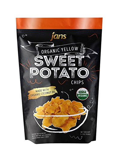 Jans Organic Sweet Potato Chips (Yellow, 4.0 (Organic Sweet Potato)