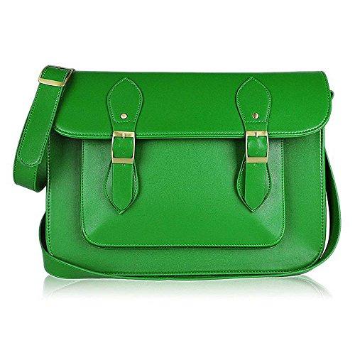 TrendStar - Bolso mochila  para mujer verde P - Green N - Green