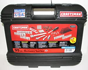 Craftsman 9-34095 Mechanics Tool Set 95 Pc with Laser Marking & Storage Case
