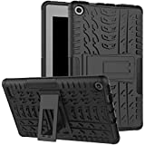 Boskin Amazon fire 7 case 2017 Release,Kickstand/Impact Resistant Heavy Duty case for Kindle fire 7 inch 2017 (Black)