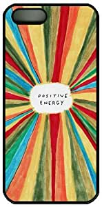 Positive Energy Theme Hard Back Cover Case For Iphone 5 5S