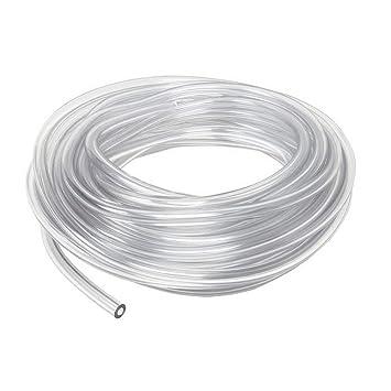 Tubo de PVC para limpiaparabrisas, manguera de PVC de 6 mm de diámetro interno de 0,63 cm: Amazon.es: Bricolaje y herramientas