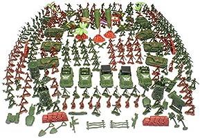 Navigatee Soldados De Juguete - 307 Juegos De Soldado Pequeño Traje De Soldado 4-9cm Militar De Juguete Soldado Niños Conjunto De Mesa De Arena Juguetes Militares Soldados De Juguete Traje.: Amazon.es: Bebé