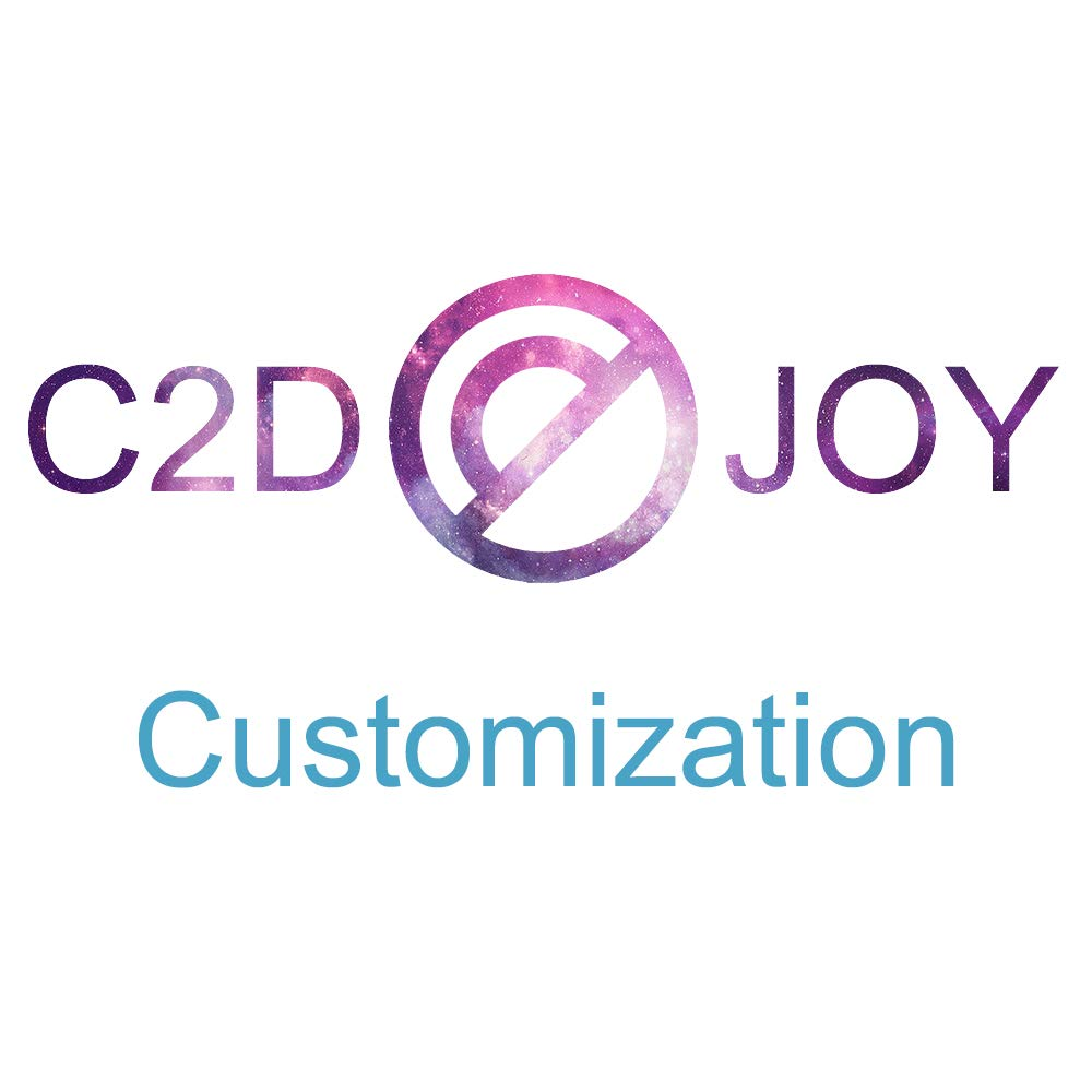 C2D JOY Garmin vivoactive3 (音楽) / vivomove(HR) / FR645交換用バンド スポーツループバンド – ソフトで ナイロン織り 簡単に調節可能なフック&ループファスナー付き – S/L Customization 20D-SL-Custom   B07PYZXL5D