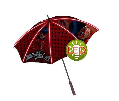 Kids Lady Bug Paraguas Clásico, 69 cm, Rojo
