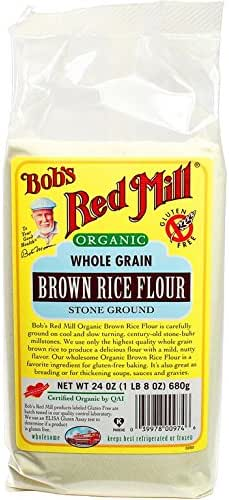Flours & Meals: Bob's Red Mill Organic Brown Rice Flour