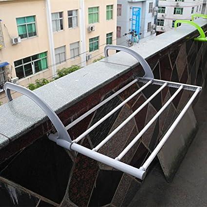 Accesorios de baño Yomiokla - Toalla de metal para cocina, inodoro, balcón y bañoTendedero