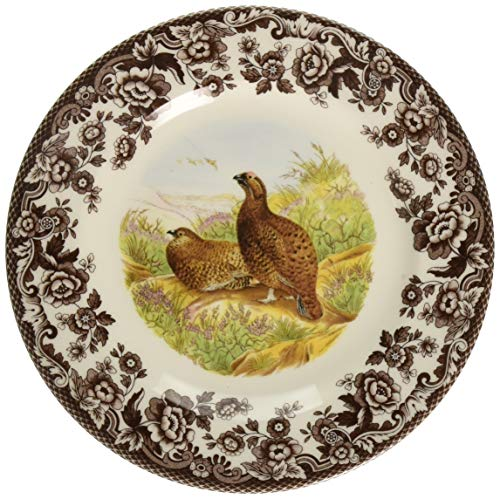 (Spode Woodland Red Grouse Salad Plate)