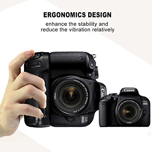 Battery grip for Canon EOS 800D/EOS 77D, BG-1X Professional