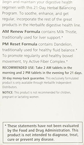 Amazon.com: HERBALIFE 21 DAY HERBAL CLEANSING PROGRAM: Health ...