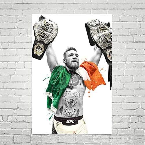 Conor McGregor Poster Wall Art UFC Home Decor Gift Print