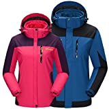 Putu Lovers Winter Outdoor 3 in 1 Windproof Jacket Plush Liner 7185+7186