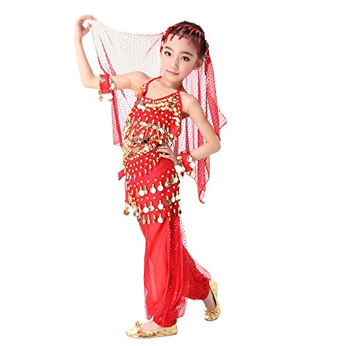 Dance Belly Costume Making Supplies (sea-junop Children 's Day Girls Belly Dance Costume S)