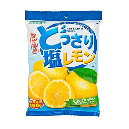 Lemon and Salt Candy 150g (628MART) (3 Packs) by Cocon (Image #1)
