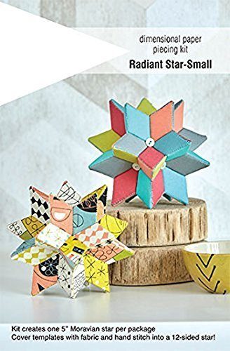 (Indygo Junction Fabri Flair Small Radiant Star Dimensional Paper Piecing Kit)