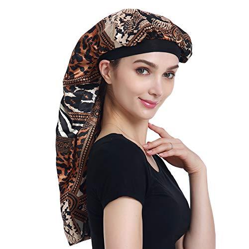 Jumbo Head - Natural Hair Bonnet Hair Cover for Sleeping Night Cap