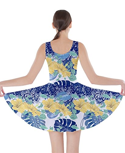 CowCow - Vestido - para mujer Azul azul oscuro XXXXX-Large