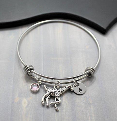 Giraffe Bangle Bracelet