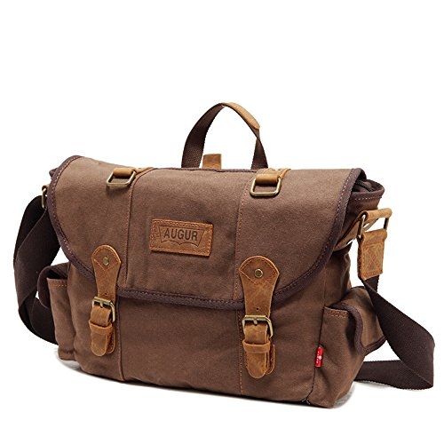 Militar Vintage Solo Hombres Military Bolso Green verde Otomoll Messenger Canvas 4qEHZwHn0