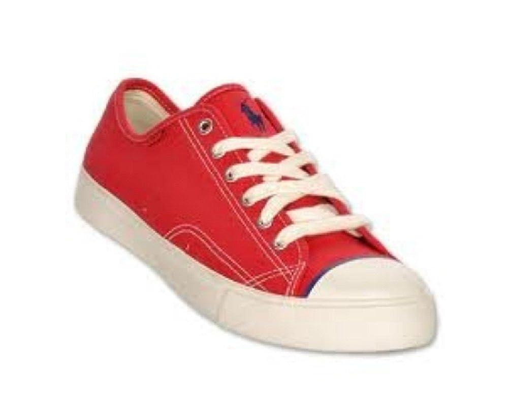 Ralph Lauren - Zapatos de cordones para hombre rojo rojo 45 (11 UK ...