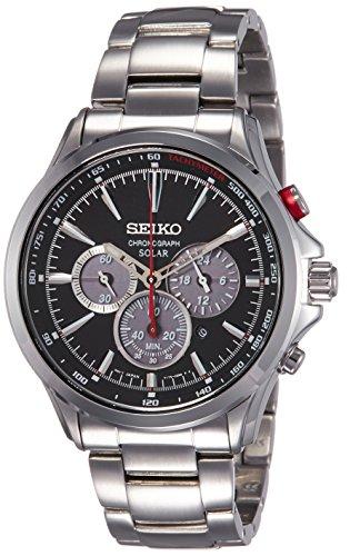 - Seiko Solar Chronograph SSC493P1