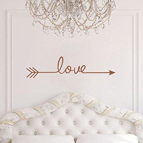 brown bedroom wall decals - 1