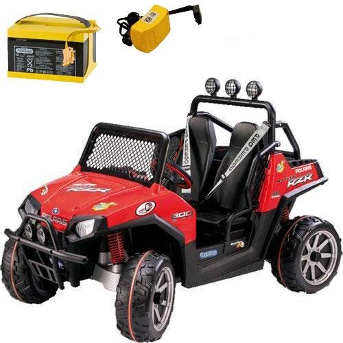 Peg Perego - Polaris Ranger RZR with additional Battery and