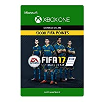 Seulement 89,99 € - FIFA 17 Ultimate Team - 12000 Points FIFA [Xbox One - Code jeu à télécharger]