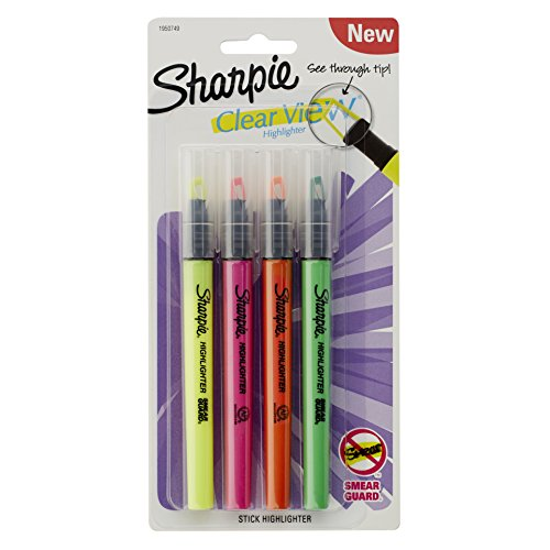 sharpie-clear-view-highlighter-stick-assorted-4-pack-1950749
