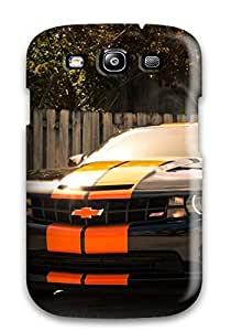 Perfect Black Chevrolet Camaro Case Cover Skin For Galaxy S3 Phone Case
