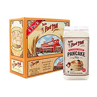 Gluten Free Pancake Mix by Bob's Red Mill, 22 oz (Pack of 4)