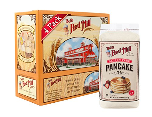 Bob#039s Red Mill Gluten Free Pancake Mix 22ounce Pack of 4