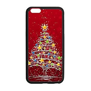 Christmas colorful Christmas tree Phone Case for Iphone 6