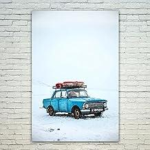 Westlake Art - Poster Print Wall Art - Car Motor - Modern Picture Photography Home Decor Office Birthday Gift - Unframed - 12x18in (*d9-d89-d93)