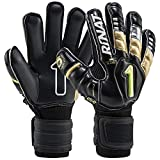 Uno Premier GK Spines (Finger Protection) (Black/Gold, 4)