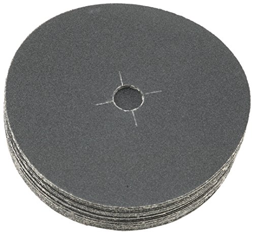Sungold Abrasives 87505 Plain Backed Edger Sanding Discs for Floor Sanders 60 Grit Heavyweight Silicon Carbide Paper with 7