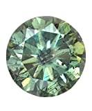 1.48 Ct Brown Color VS2 Clarity Loose Moissanite Round Brillint Cut