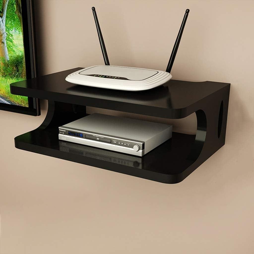 Ccgdgft Escuadra de Pared de TV Box Set-Top Box Cable Modem Router ...