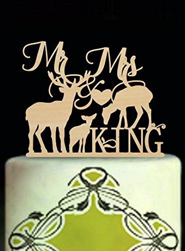 Deer-Family-Wedding-Cake-Toppers-Mr-and-Mrs-Personalized-Last-Name-Country-Wedding-Cake-Topper