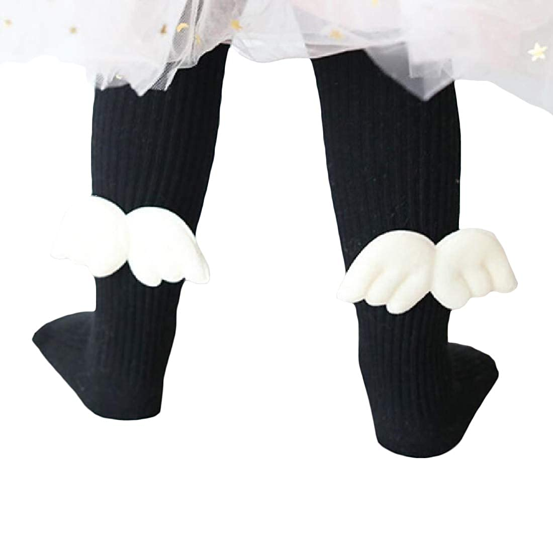 Pandapang Girl Classic Fit Pull-On Cotton Footed Stretch Pantyhose Tight Leggings