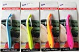 Plastic Vegetable Peeler SET of 4