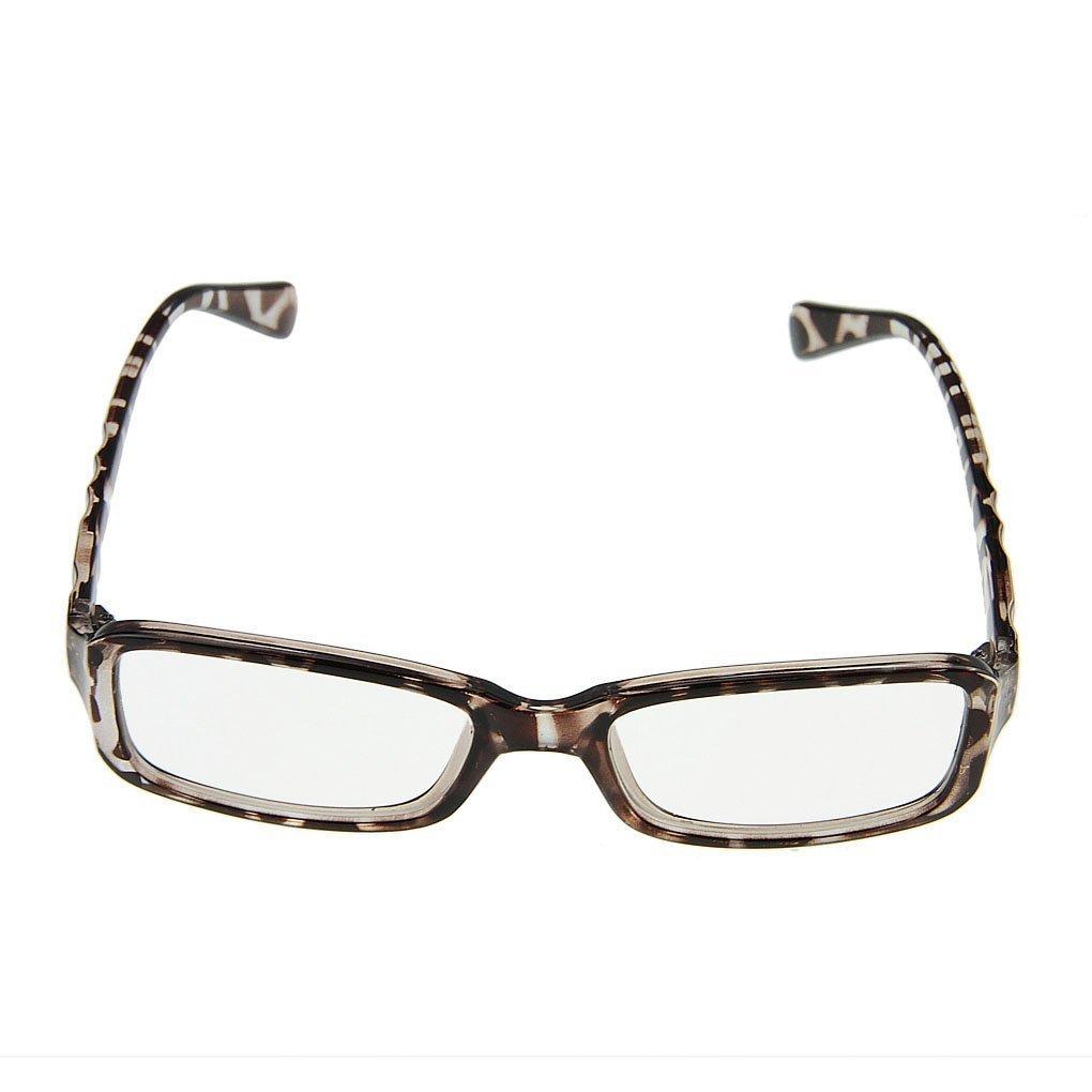 BAO CORE Unisex Trendige Nerd Brille Sonnenbrille Wayfarer Brille ...
