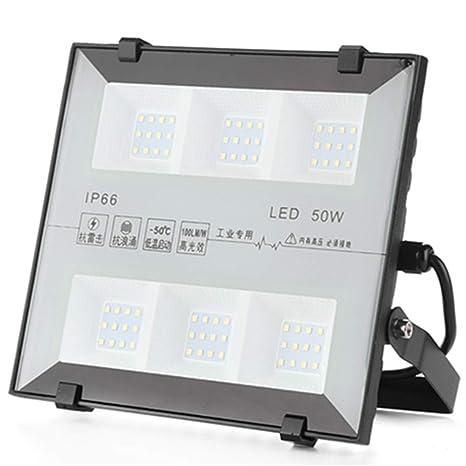 QinTian 30W Focos LED Exterior, 3000LM Floodlight Led Foco ...