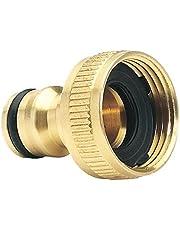 """Draper 36198 Brass Garden Hose Tap Connector (3/4"""")"""