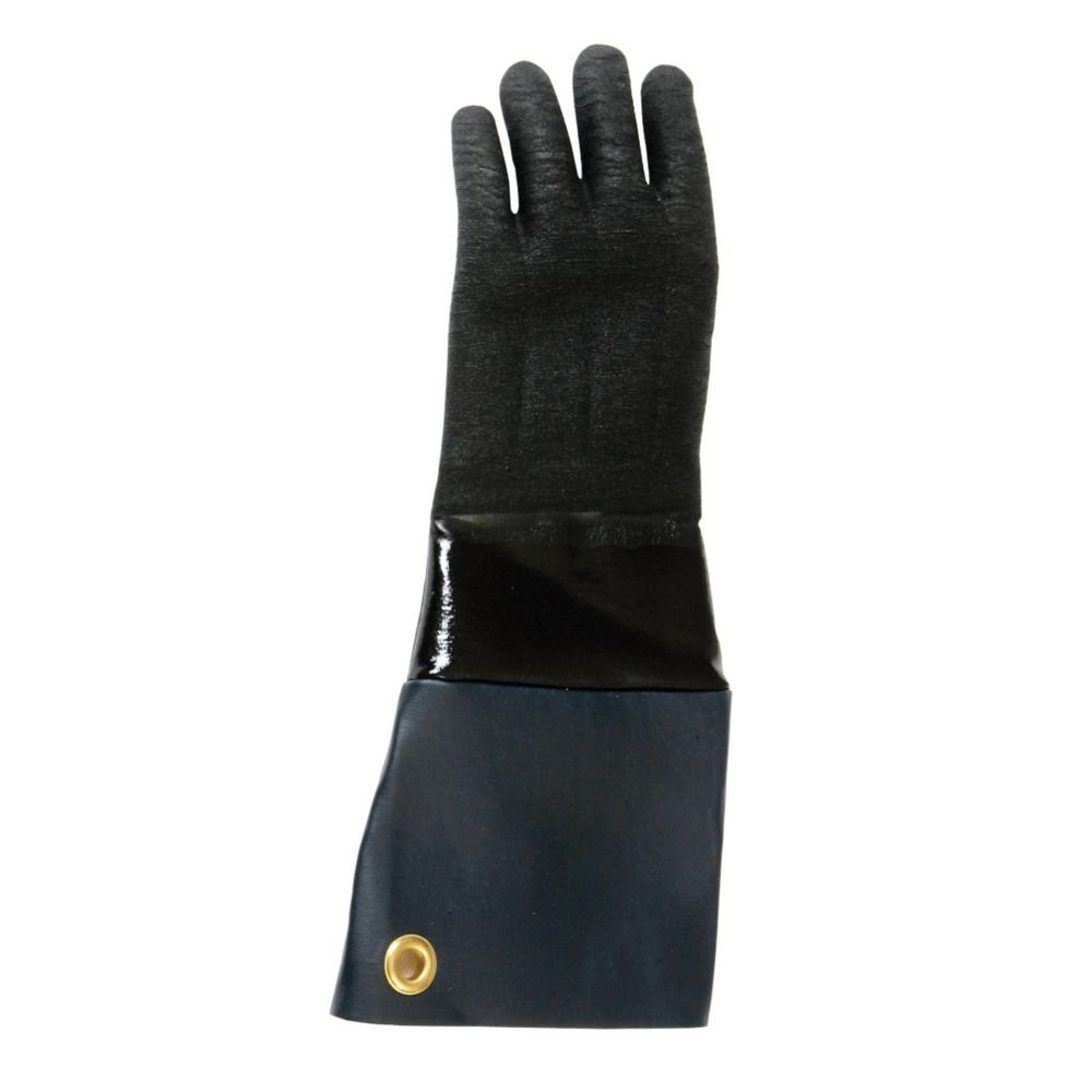 San Jamar T1217 Black Neoprene Rotissi-Glove by San Jamar