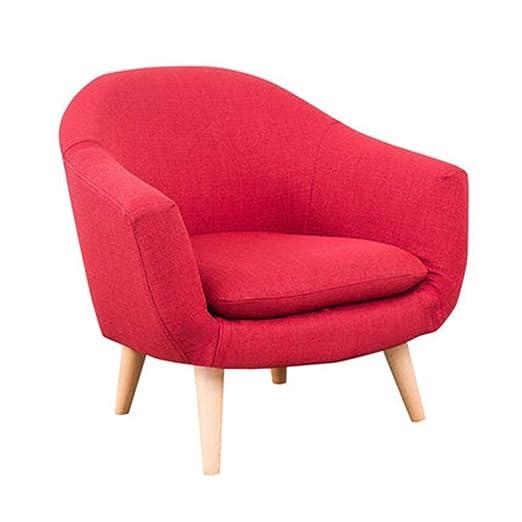 Silla alta de bebé, brazo de tela moderno sofá silla ...