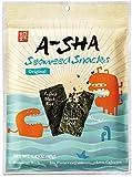A-Sha Seaweed Snacks Original - Shareable Size with Puffed Rice, Toasted Almonds, Roasted Sesame Seeds